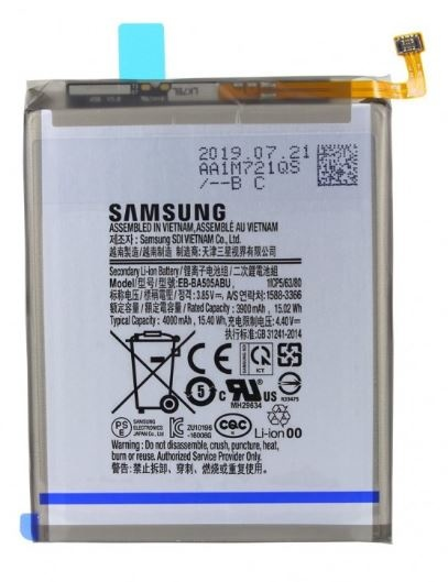 Samsung Galaxy A50 internal battery