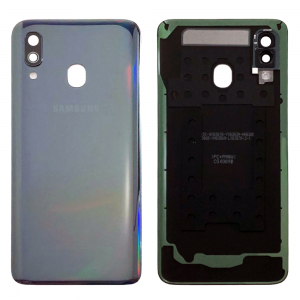 Samsung Galaxy A40 A405 black battery back cover