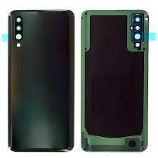 Samsung Galaxy A50 black battery back cover