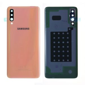 Samsung Galaxy A70 A705 coral battery back cover
