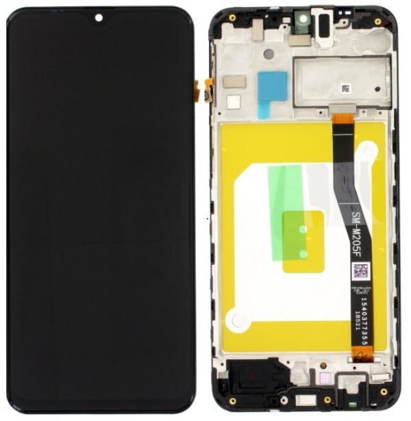 Genuine Samsung Galaxy M20 LCD Screen Black Service Pack