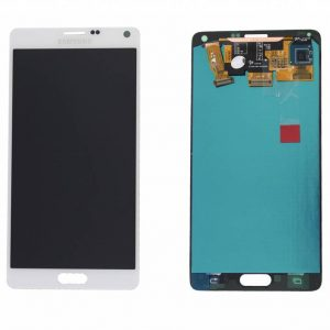 Samsung Galaxy Note 4 LCD Screen Service Pack White
