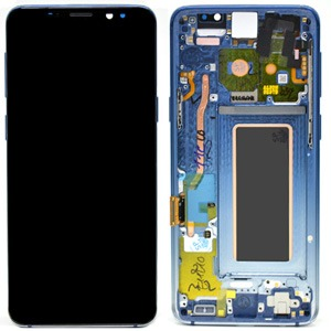 Samsung S9 G960 LCD Screen Service Pack Blue Polaris