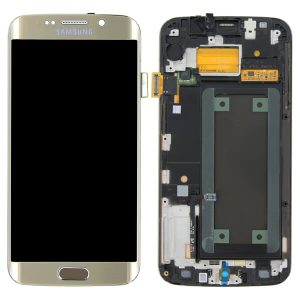 Samsung S6 Edge LCD Screen Service Pack Gold