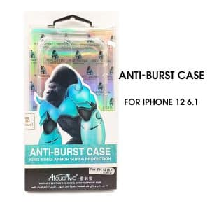 iPhone 12 6.1 inch 2020 Anti-Burst Protective Case Clear
