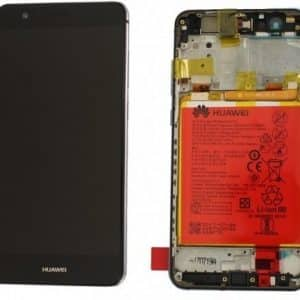 Huawei P Smart LCD Screen Black Service Pack