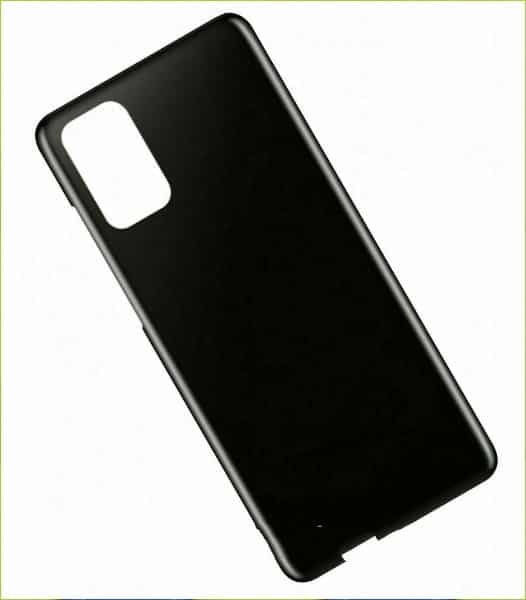 S20 Back cover Black