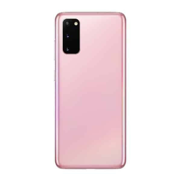 S20 Plus back cover pink