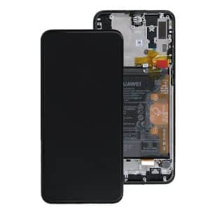 Huawei P Smart Z LCD Screen Black Service Pack