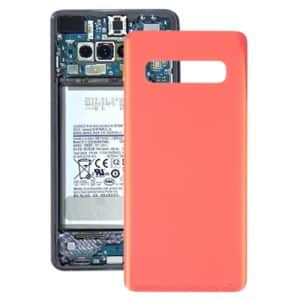 For Samsung Galaxy S10 Plus Battery Back Cover Pink