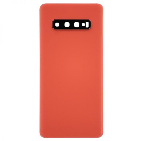 For Samsung Galaxy S10 Plus Battery Back Cover Red