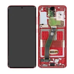 Samsung Galaxy S20 G980 LCD screen Red