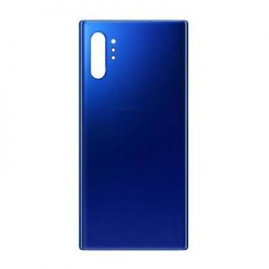 Note 10 Plus back cover blue