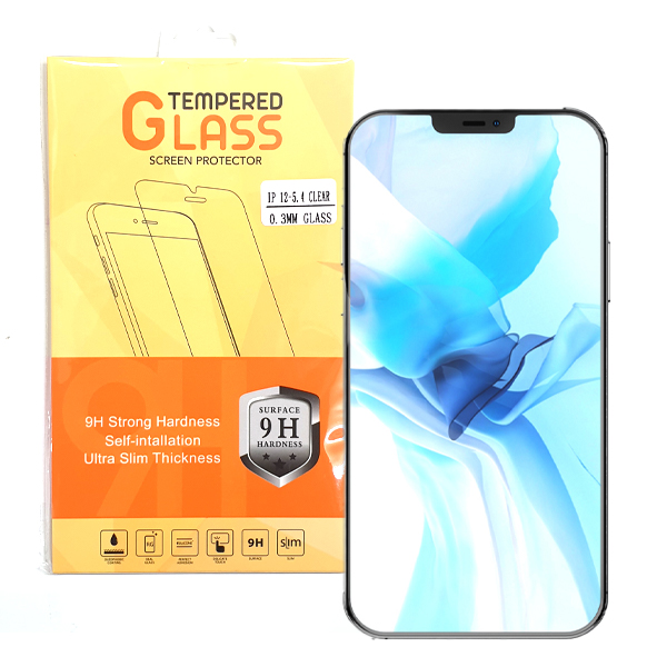 iPhone 12 5.4 Inch Tempered Glass