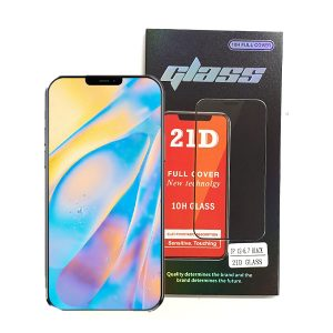 iPhone 12 Pro Max 6.7 inch Full Glue 21D Tempered Glass Screen Protector