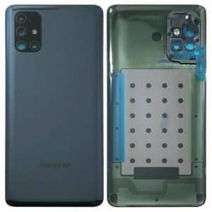 Samsung Galaxy M51 M515 battery back cover black