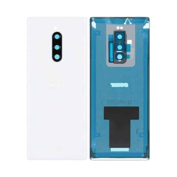 Sony Xperia 1 battery back cover white