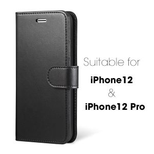 Wallet Flip Case for iPhone 12 & 12 Pro 6.1 inch