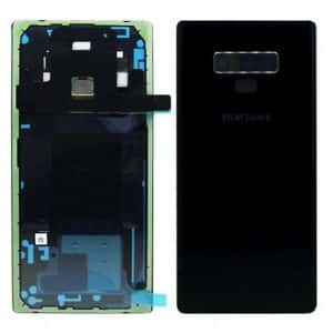 note 9 battery back cover black
