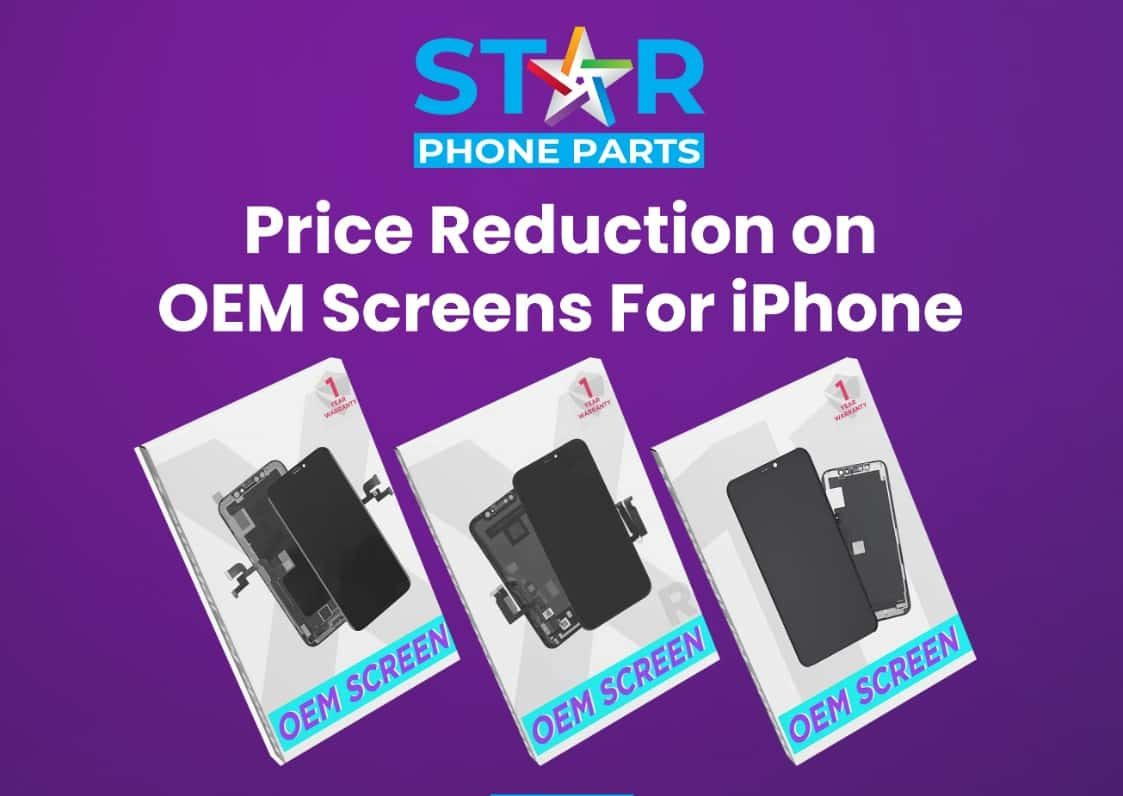Price reduction for iphone oem lcd screens