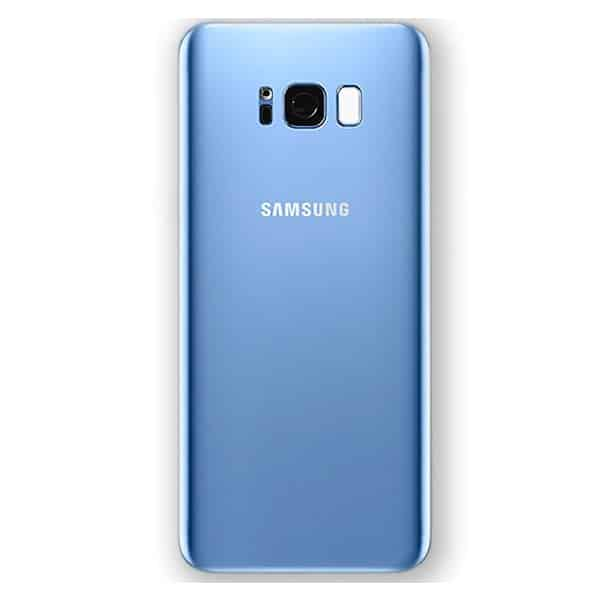 samsung galaxy s8 battery back cover blue