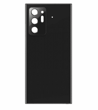 For Samsung Galaxy Note 20 Ultra Back Cover Black