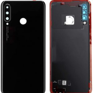 OEM Battery Cover With Camera Glass For Huawei P30 Lite Midnight Black 48MP