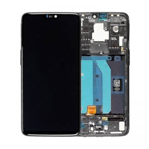 OnePlus 6 LCD Screen Original Glass Changed With Frame