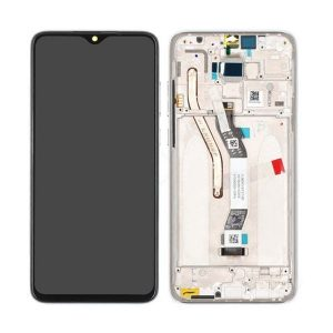Genuine Redmi Note 8 Pro LCD Display Touch Screen White