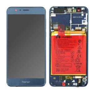 Genuine Huawei Honor 8 LTPS IPS LCD Display Touch Screen Blue