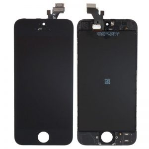 For iPhone 5 LCD Screen Black- Standard Quality Replacement LCD