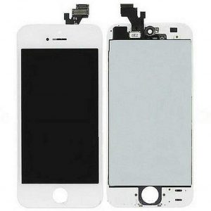 For iPhone 5 LCD Screen White- Standard Quality Replacement LCD
