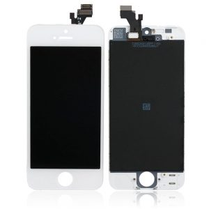 For iPhone 5s LCD Screen White- Standard Quality Replacement LCD