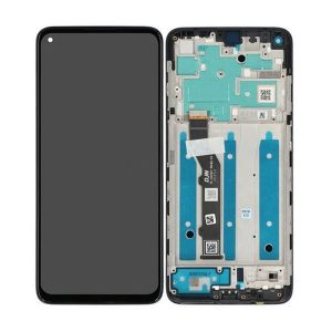 Genuine Motorola Moto G9 Plus LTPS IPS LCD Display and Touch Screen silver