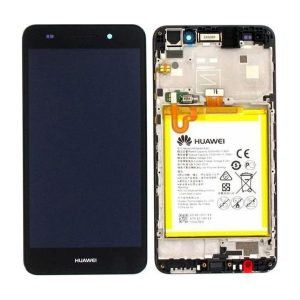 Genuine Huawei Y6 II Compact IPS LCD Display Touch Screen With Battery Black