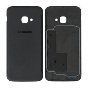 Genuine Samsung Galaxy Xcover 4S Battery Back Cover Black