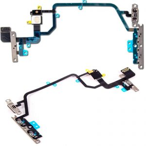Power Flex Cable Volume Buttons & Mute Switch With Brackets