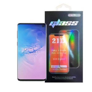 Samsung Galaxy S10 Full Glue 21D Tempered Glass Screen Protector