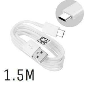 Genuine Samsung S9+ S9 S8+ S8 Note 7 Note 8 USB Data Cable Type C 1.5m EP-DW700CWE