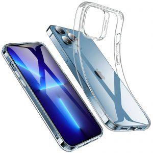 Compatibility: Only for iPhone 13 Pro Max Stay Original Crystal clear and yellowing resistant to let you show the world your iPhone Shock Resistant Air-guard corners protect your phone from dings and drops Screen & Camera Protection Raised edges guard your screen and camera against scratches